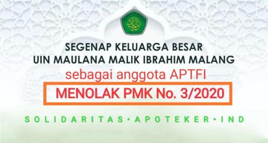 PENOLAKAN PMK No. 03/2020