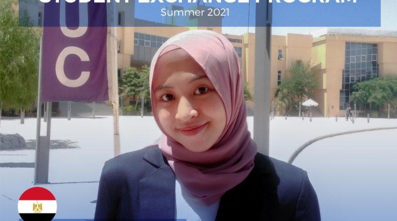 Student Exchange Programme Summer 2021: Badr City, Cairo, Mesir